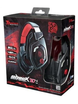 Tt eSPORTS Shock 3D 7.1 Gaming Headset USB