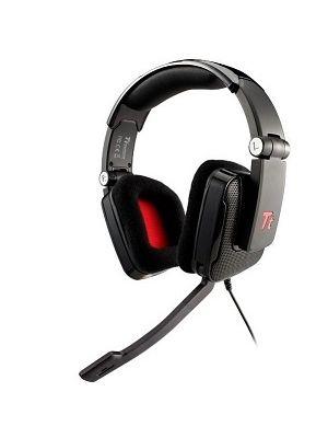 Tt eSPORTS Shock 3.5mm Gaming Headset Black Foldable