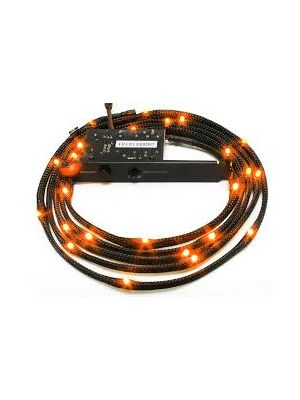 NZXT Sleeved LED Cable 200cm Orange