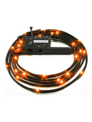 NZXT Sleeved LED Cable 100cm Orange