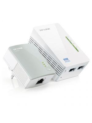 TP-Link TL-WPA4220KIT AV500 WiFi Powerline Extender Starter Kit