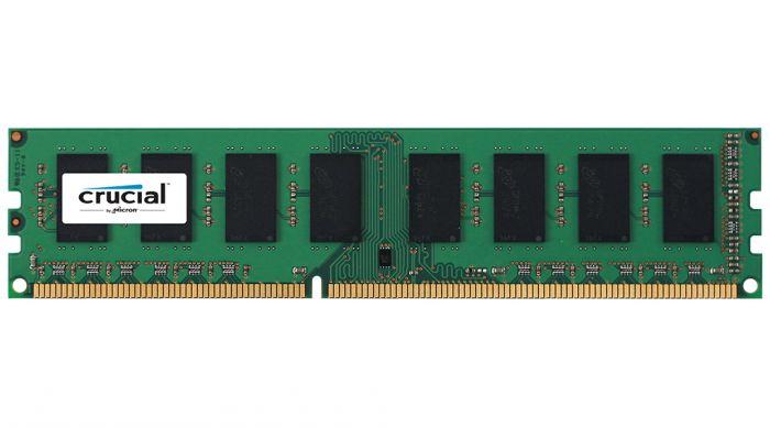 Memory//RAM CRUCIAL 4GB 1X4GB DDR3-1600 PC3-12800 CT51264BD160B.C16FKD DIMM 1.35v