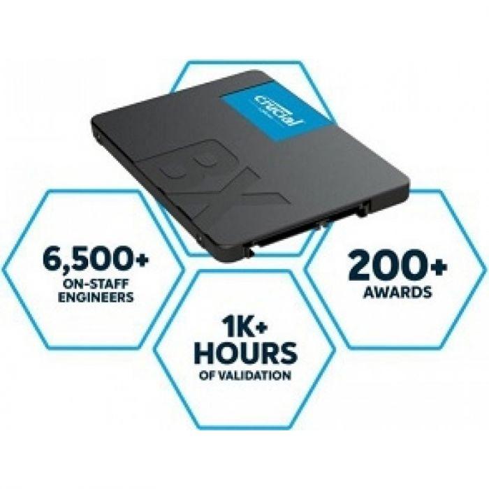 Crucial BX500 SATA 2 5in SSD 480GB